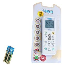 HQRP Universal Remote Control Compatible with Comfort-Aire 6