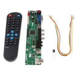 Universal TV+HDMI+VGA+USB LCD LED Screen