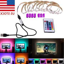 USB Mood Light RGB Multi Color LED Strip Light TV Backlight