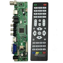 V56 Universal LCD LED TV Controller Driver Board PC/VGA/HDMI