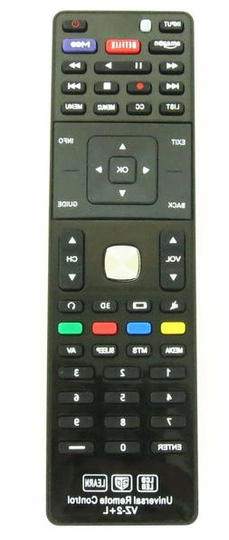 Vizio Universal TV Remote for Almost All Vizio LED LCD Smart
