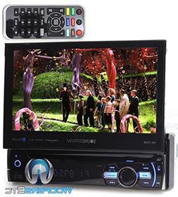 """Soundstream VR-75XB In-Dash 1-DIN 7"""" LCD Screen DVD, CD/MP3,"""