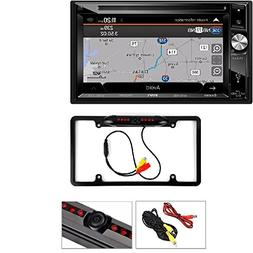 "Jensen VX7023 6.2"" Double-Din Navigation DVD/CD/MP3 Car Ster"