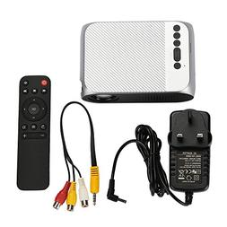 HD Wireless LCD Projector, Home Theater Video Projector Supp