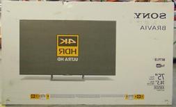 "Sony XBR-75X850E 75"" 2160p 4K HDR10 120Hz UHD LED Internet T"
