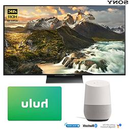 Sony XBR-65Z9D 65-inch 4K Ultra HD LED TV with Google Home