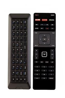 XRT500 Dual Side QWERTY Keyboard Remote Control fit for VIZI